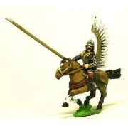 16-17th Century Polish: 1 Winged Hussar with Lance pas cher