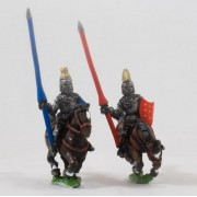 Polish 1350-1480: Mounted Knights, 1380-1440AD in Jupon & Helmets pas cher