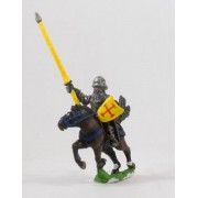 Polish 1350-1480: Mounted Knights, 1400-1480AD with Plate Armour & Shield pas cher