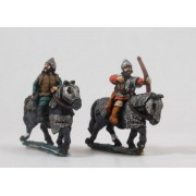 Russian 1300-1500: Heavy Cavalry with Bow, on Armoured Horse (Mail) pas cher