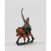Hungarian 1300-1450: Horse Archer holding Sword, in Fur Cap pas cher