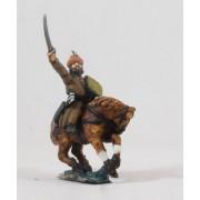 Byzantine 1300-1480: Trapezuntine Horse Archer, waving sword pas cher