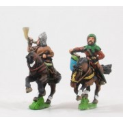 Generic Eastern European: Command: Mounted Drummers & Hornblowers pas cher