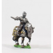 Generic Eastern European: Mounted Generals / Officers in Plate Armour, on Armoured Horse pas cher