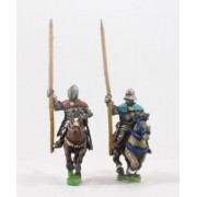 Generic Eastern European: Mounted Standard Bearers in Plate Armour, on Unarmoured Horse pas cher