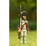 AWI American: Infantryman at attention pas cher