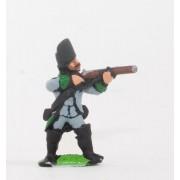 Seven Years War Austrian: Chasseur/Jager firing pas cher