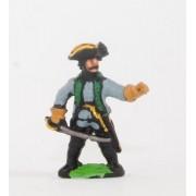 Seven Years War Austrian: Command: Chasseur/Jager Officers pas cher