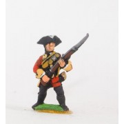 Seven Years War British: Musketeer Advancing pas cher