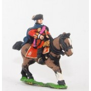 Seven Years War British: Command: Mounted Foot Officer pas cher