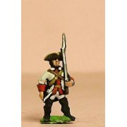 Seven Years War French: Fusilier advancing pas cher