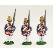 Seven Years War Prussian: Fusilier at attention (variants) pas cher