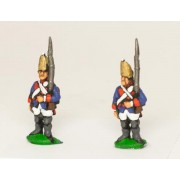 Seven Years War Prussian: Grenadier at attention, variants pas cher