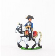 Seven Years War Prussian: Command: Mounted Infantry Officers pas cher