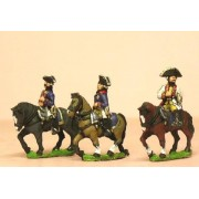 Seven Years War Prussian: Command: Mounted General and Staff Officers pas cher