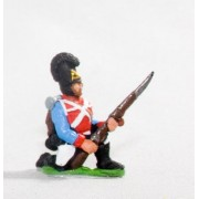 Bavarian 1805-14: Line Fusiliers: Kneeling ready pas cher
