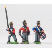 British 1814-15: Command: Officers, Standard Bearers & Drummers pas cher