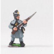 British 1814-15: Line or Flank Coy in Greatcoat at the ready pas cher