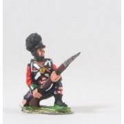 British 1814-15: Highlander kneeling / ready pas cher