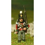 British Infantry 1800-13: Line Infantry in Stovepipe Shako, at attention pas cher