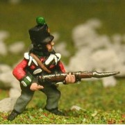 British Infantry 1800-13: Grenadier or Light Coy, advancing pas cher