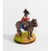 British Cavalry: Command: Mounted Infantry Officer in Bicorne pas cher