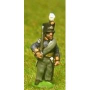 Dutch Belgian 1814-15: Command: Dutch Officer, Standard Bearer & Drummer pas cher