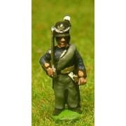 Dutch Belgian 1814-15: Command: Belgian Officer, Standard Bearer & Drummer pas cher