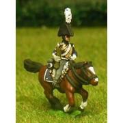 Dutch Belgian 1814-15: Command: Carabinier Officer, Standard Bearer and Trumpeter pas cher