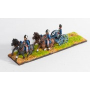 British: Limber with seated gunner, four horses & two drivers pas cher