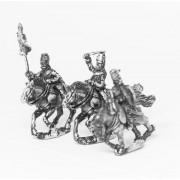 Seven Years War Russian: Command: Hussar Officer, Standard Bearer & Trumpeter pas cher
