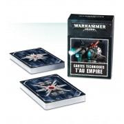 W40K : Accessoires - Cartes Techniques T'au Empire VF pas cher