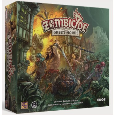 Zombicide black plague green horde boutique philibert for Porte zombicide