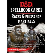 Dungeons & Dragons 5e Éd. : Spellbook Cards - Races & Puissances Martiale