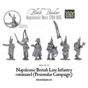 Napoleonic British Line Infantry command (Pensinsular War) pas cher