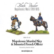 Napoleonic Marshal Ney & Mounted French Officer pas cher
