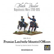 Napoleonic Wars: Prussian Landwehr Mounted Officers 1789-1815 pas cher