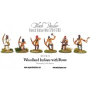 Woodland Indians with bows pas cher