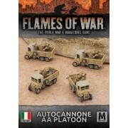 Autocannone AA Platoon