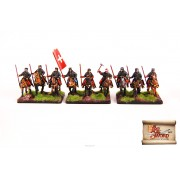 By Fire & Sword: Pancerni Cavalry with Spears Banner pas cher
