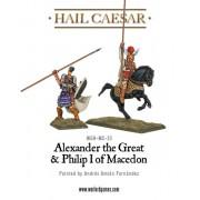 Hail Caesar - Alexander the Great & Philip I of Macedon pas cher