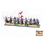 By Fire & Sword: Polish Cossack Cavalry with Spears Banner pas cher