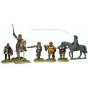 Henry V mounted, and command pas cher