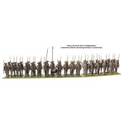 American War of Independence Continental Infantry 1776-1783 pas cher