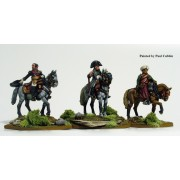 Napoleon and staff mounted pas cher