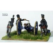 Foot Artillery firing 6pdr pas cher