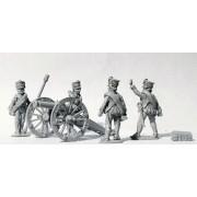 Foot Artillery firing 6pdr (1809 Kiwer) pas cher