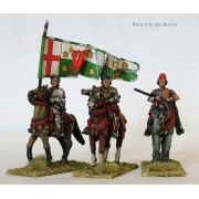 Lancastrian mounted high command pas cher