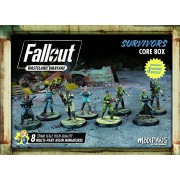 Fallout: Wasteland Warfare - Survivors Core Box pas cher