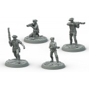 Fallout: Wasteland Warfare - Survivors Minutemen Posse pas cher